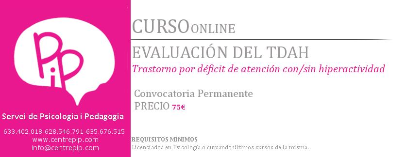 Curso Online Evaluación TDAH