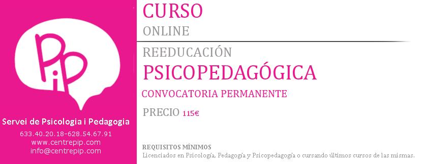 Curso Online Reeducaciones Psicopedagógicas